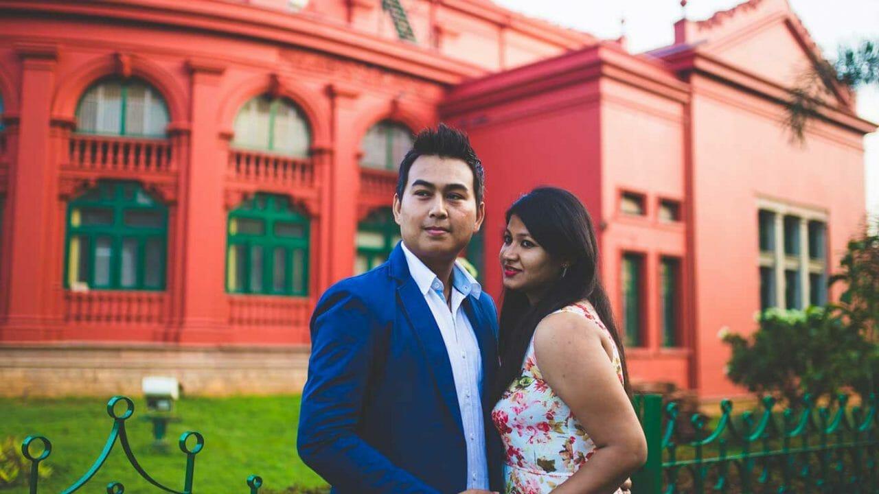 Sonali david pre wedding