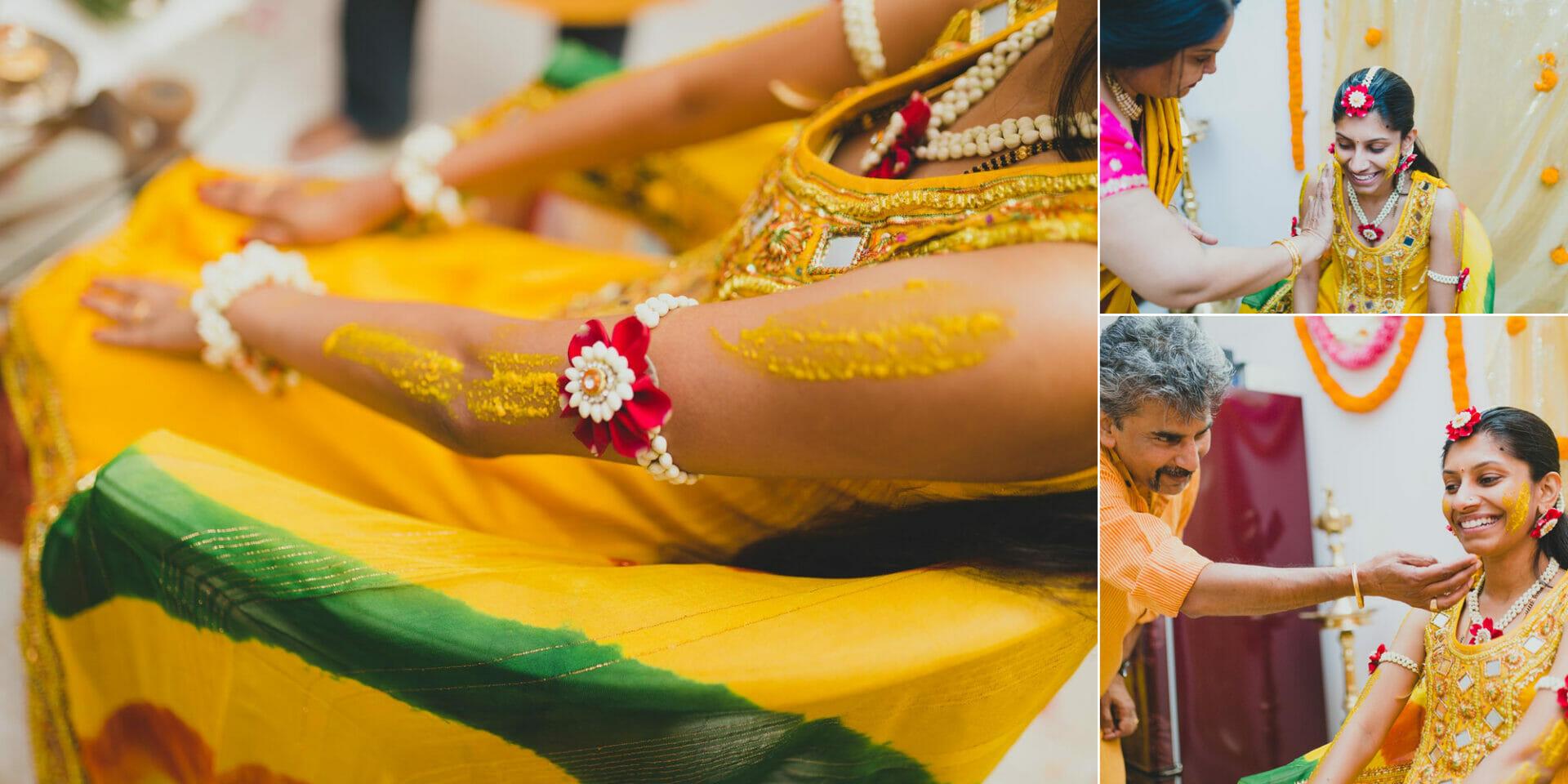 shruti annayya sree vikash photography haldi kalathur gardens 5