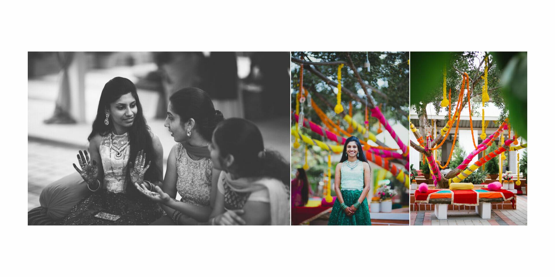 shruti annayya sree vikash photography mehandi sangeeth kalathur gardens 11