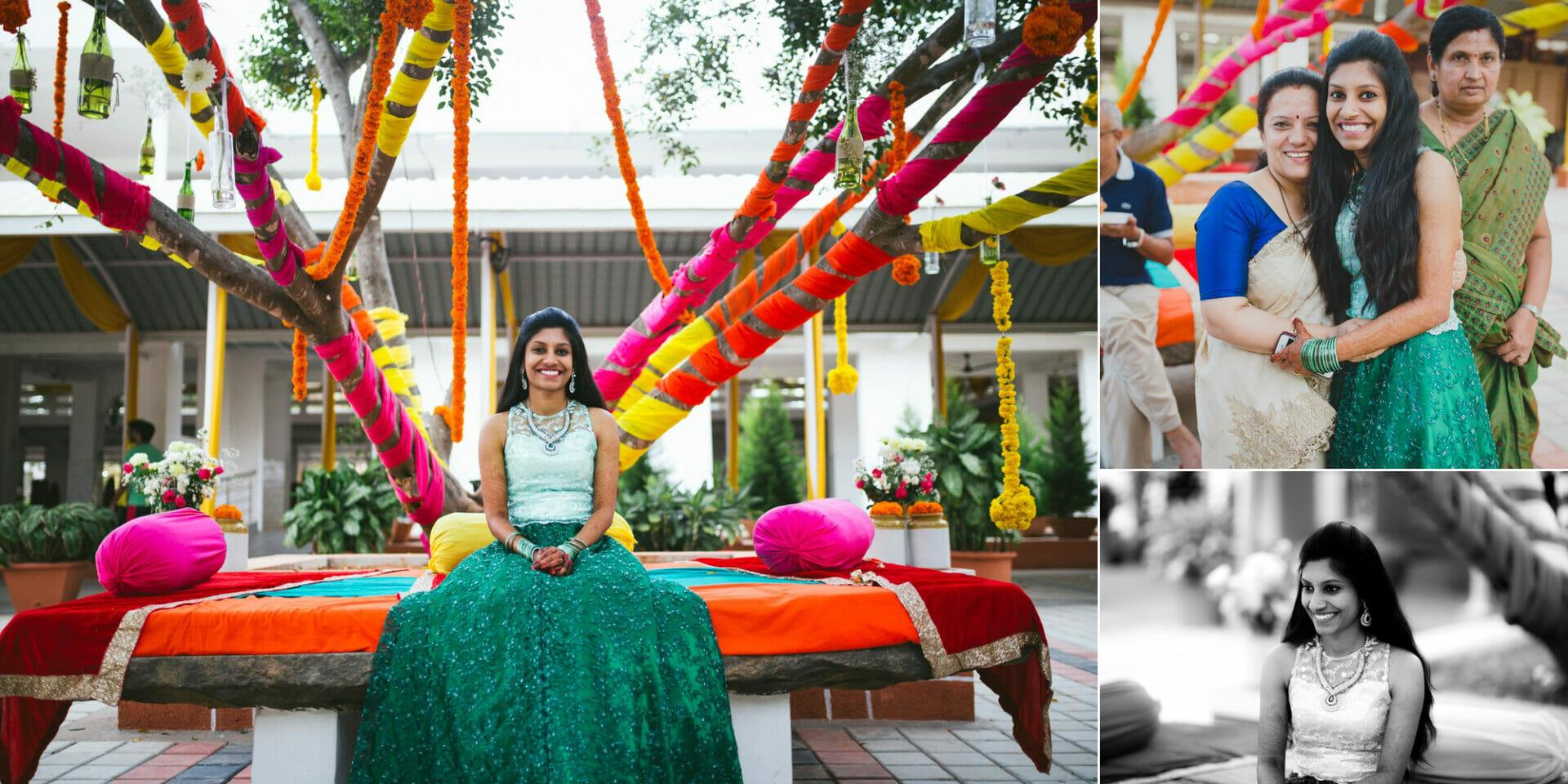 shruti annayya sree vikash photography mehandi sangeeth kalathur gardens 12