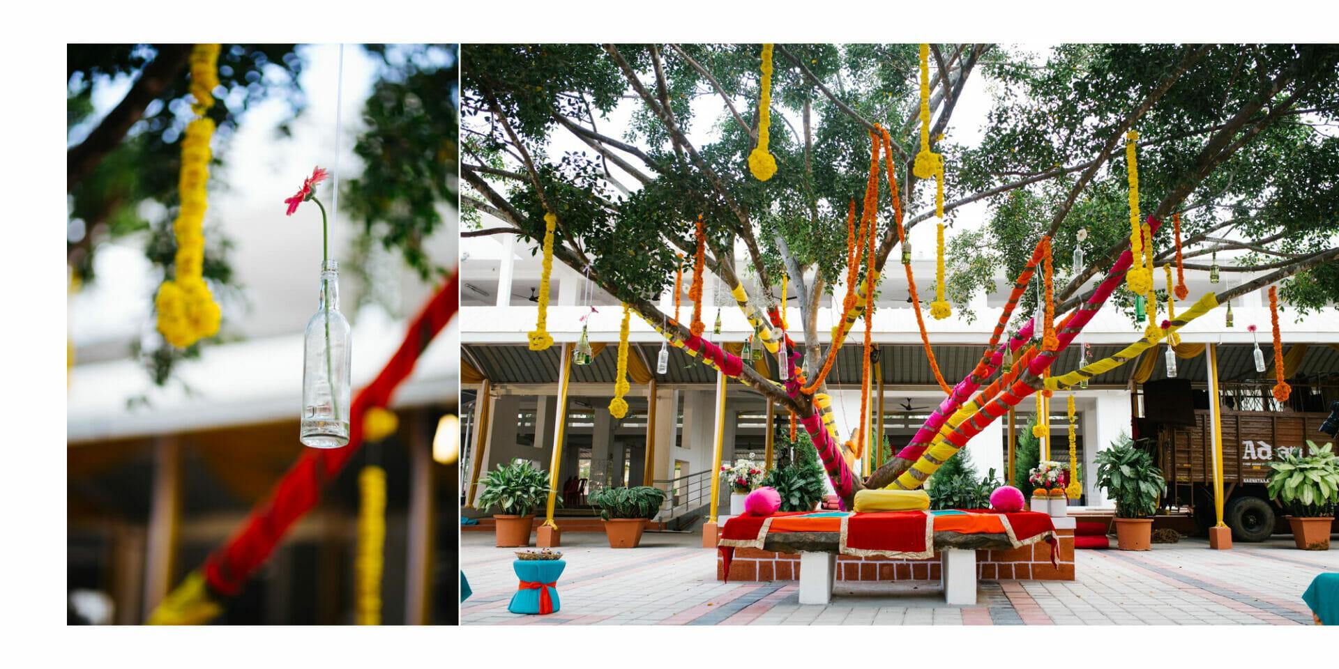 shruti annayya sree vikash photography mehandi sangeeth kalathur gardens 2