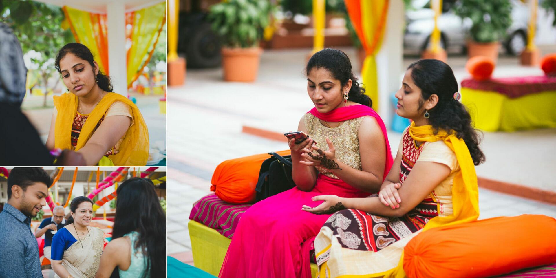 shruti annayya sree vikash photography mehandi sangeeth kalathur gardens 8