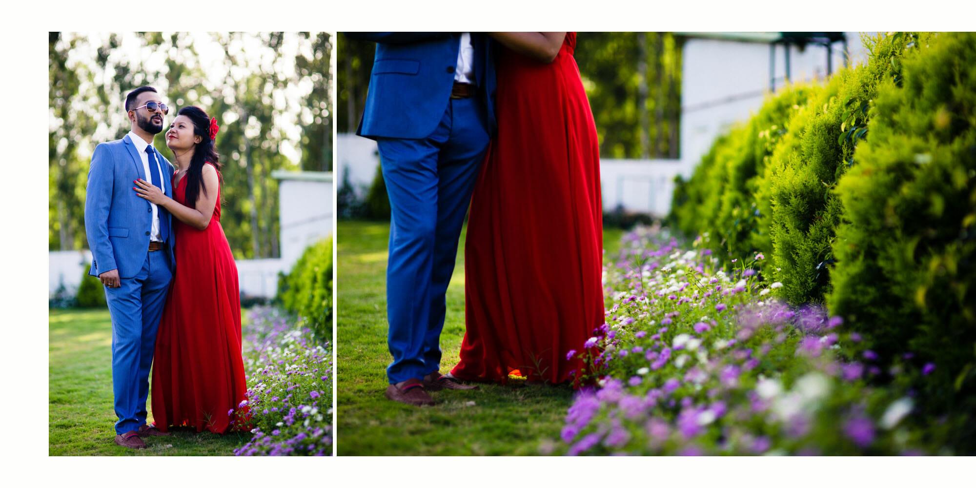 Ashish Rahel Pre Wedding bangalore couple sreevikash 9