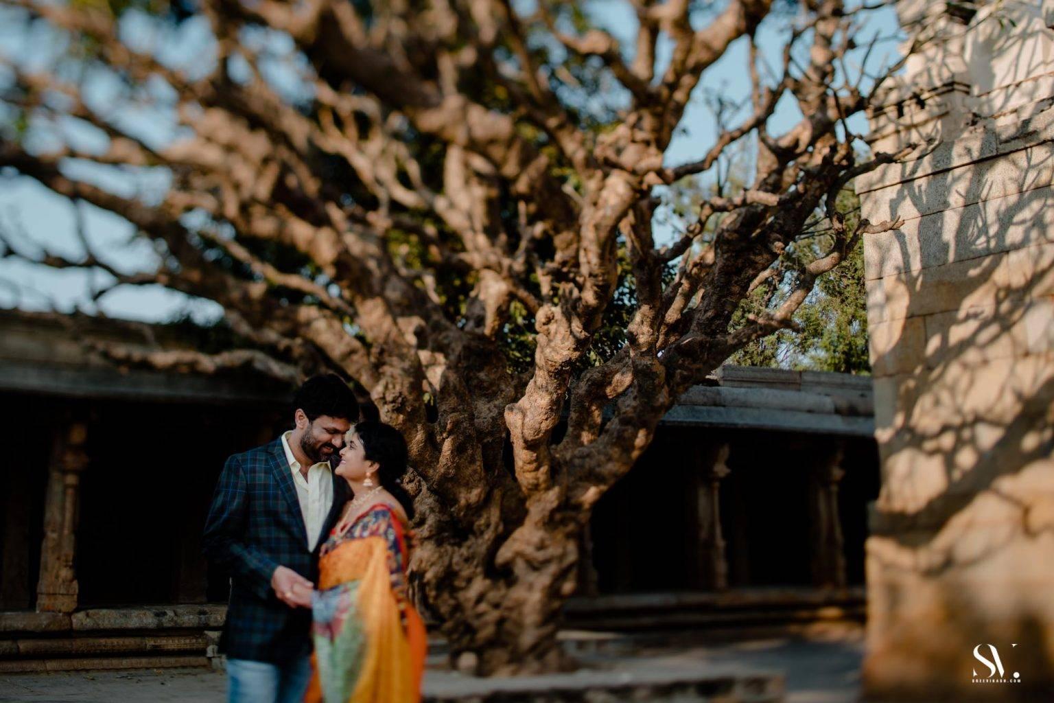 Pre wedding Lepakshi Nandi Temple Bangalore Photographer candid pre wedding Sree vikash 19
