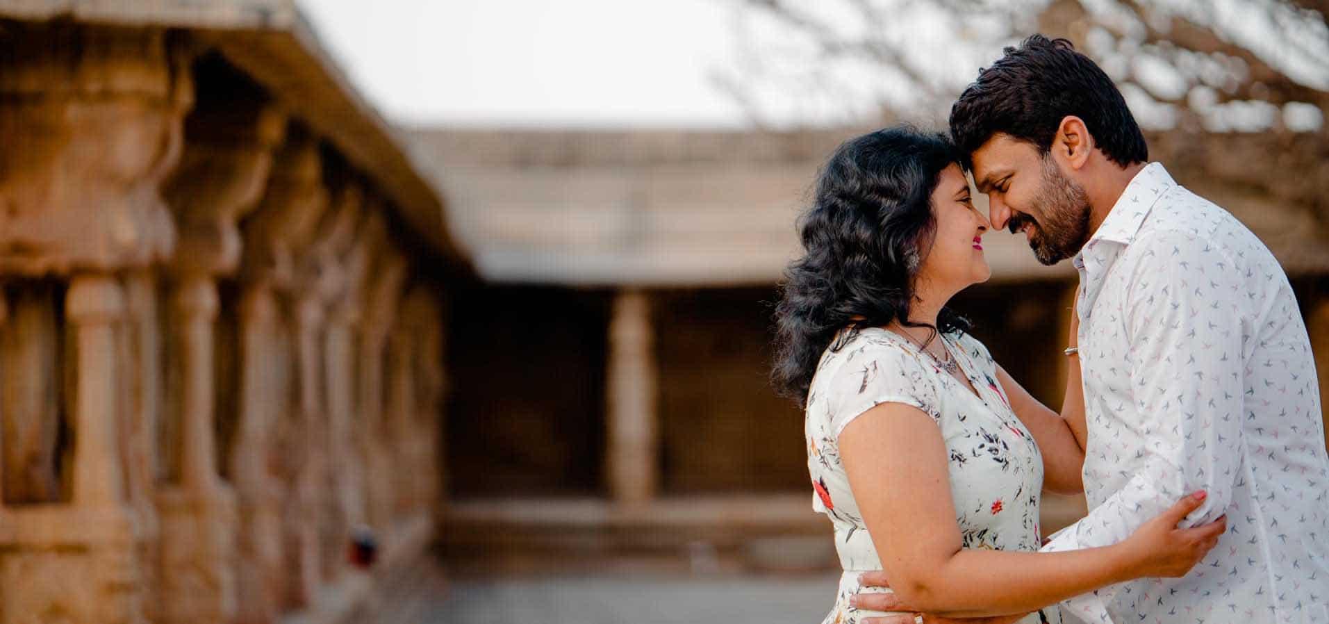 Pre wedding Lepakshi Nandi Temple Bangalore Photographer candid pre wedding Sree vikash 25